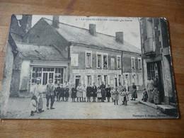 72 - La Chapelle Huon Le Centre (tachée/ Angles Abimés) Dubois Cafe - Otros Municipios