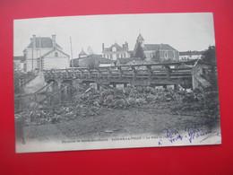 VIENNE LA VILLE - Le Pont Et L'Eglise - Cachet Hexagonal Départ De Vienne La Ville En 1904 - Dos Non Séparé - Altri Comuni