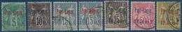 France Colonies 7 Timbres Port Lagos N°1 à 6 Et 3a Surcharge Rouge Oblitérés Et Tous TTB - Used Stamps