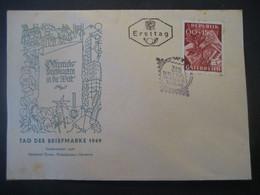 Österreich 1949- FDC Sonderstempel Tag Der Briefmarke Auf MiNr. 946 - FDC