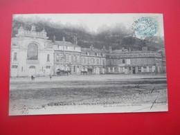 SAINTE MENEHOULD  - La Salle Des Fetes Et La Poste - Voyagée En 1906 - TBE - Altri Comuni