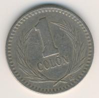 EL SALVADOR 1985: 1 Colon, KM 153 - El Salvador