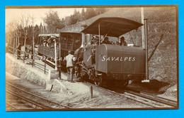 Suisse Lucerne Righi * Train à Crémaillère Du Rigi * Photo Vers 1910 - Voir Scans - Treni