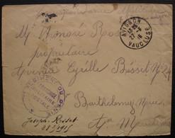 Avignon 1915 7eme Régiment Du Génie, Franchise Militaire Postale - Oorlog 1914-18