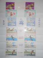 Saint Pierre Et Miquelon   Lot , 14 Timbres Neufs Avec Intervalle Faciale 16,70 Euros - Collections, Lots & Séries