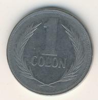 EL SALVADOR 1988: 1 Colon, KM 153 - El Salvador