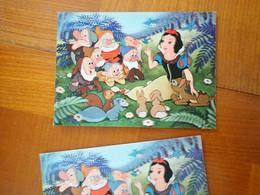 1 Carte Postale Disney  Hologramme Blanche Neige - Sonstige
