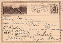 ROUMANIE ROYAUME ENTIER DE CONSTANTA POUR LA FRANCE 1938 - Covers & Documents