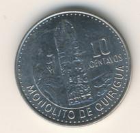 GUATEMALA 2015: 10 Centavos, KM 277.6a - Guatemala