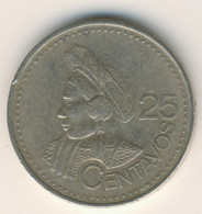 GUATEMALA 2000: 25 Centavos, KM 278 - Guatemala