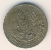 GUATEMALA 1994: 10 Centavos, KM 277 - Guatemala
