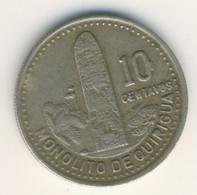 GUATEMALA 1990: 10 Centavos, KM 277 - Guatemala