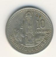 GUATEMALA 1987: 10 Centavos, KM 277 - Guatemala