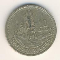 GUATEMALA 1998: 10 Centavos, KM 277 - Guatemala