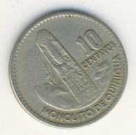 GUATEMALA 1969: 10 Centavos, KM 267 - Guatemala