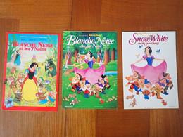 3 Carte Postale Disney  Affiche Cinéma Blanche Neige - Sonstige