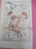 Carte Géographique Ancienne/Russie/ CCCP/ Hydrographique/Electrisation ? / Sokolov Et Ouvanov/Vers 1917-1925      PGC379 - Slav Languages