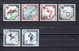 Mónaco   1960   Y&T   Nº     532/537   *   (c/charniere) - Nuevos