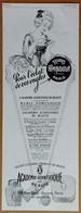 1928 L'académie Scientifique De Beauté Rubis Pompadour Pour L'éclat De Vos Ongles (produits De Beauté) -Calor- Publicité - Publicidad