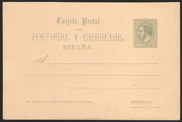 Entero Postal - Edi 14v - Sin Circular - 1850-1931