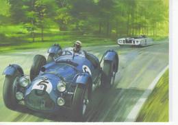 Talbot-Lago T26GS  -  Pilote:Louis Rosier  -  24 Heures Du Mans 1950  -  Art Card   -  CPM - Le Mans