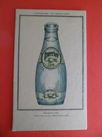Carton Publicité PERRIER Lime -  Delirantus Limus  - Vulgarus Limus - Perrier