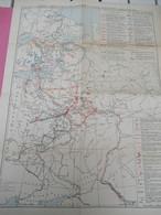 Carte Géographique Ancienne/Russie/Emplacements Des Batailles S'étant Déroulées Au XVII Siècle/Vers 1900-1920    PGC380 - Slav Languages