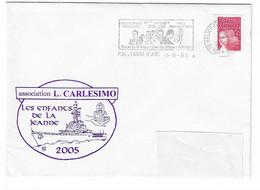 43 JDA -PORTE-HÉLICOPTÈRES JEANNE D'ARC - GEAOM 2004-2005 - LES ENFANTS DE LA JEANNE - (CARLESIMO - Naval Post