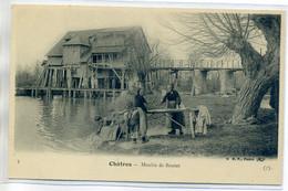41 CHATRES Edit B.F 4- Lavandieres Lavant Linge Au Moulin De Boutet 1910     /D01-2018 - Otros Municipios