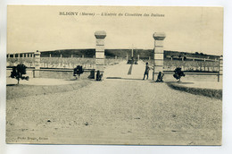 51 BLIGNY Photo Bougy- Entrée Cimetiere Des Militaires Italiens 1920    /D01-2018 - Other Municipalities