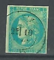 1870.- YV Nº 44B. FAUX - 1870 Emisión De Bordeaux