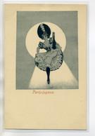 75 PARIS  JOYEUX Danseuse De French Cancan Levant La Jambe 1900 Dos Non Divisé    /D01-2018 - Non Classés