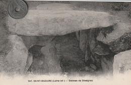44 -Très Belle Carte Postale Ancienne De  SAINT NAZAIRE  Dolmen De Dissignac - Otros Municipios