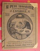 Catalogue D'ouvrages En Bois Découpé. Au Petit Travailleur. J Laffargue 1931 Quincaillerie Outillage Paris - Do-it-yourself / Technical