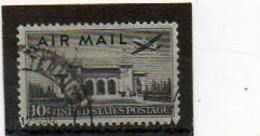 ETATS-UNIS       10 C   1947    Y&T:36   Poste Aérienne    Oblitéré - 2a. 1941-1960 Usados