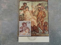CARTE MAXIMUM CARD ARCADIA, HERCULE ET TELEPHOS MALI - Andere