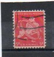 ETATS-UNIS       5 C   1948    Y&T:39   Poste Aérienne    Oblitéré - 2a. 1941-1960 Usados