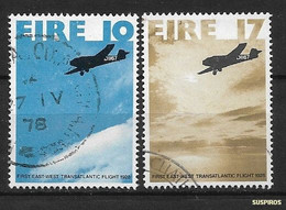 IRLANDA -IRELAND   -1978 The 50th Anniversary Of The First East - West Transatlantic Flight     Ø - Used Stamps