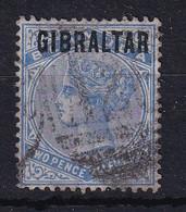 Gibraltar: 1886   QV 'Gibraltar' OVPT     SG4    2½d     Used - Gibraltar