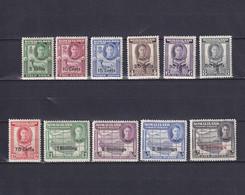 SOMALILAND 1951, SG# 125-135, CV £55, Part Set, Maps, Animals, MH - Somaliland (Herrschaft ...-1959)