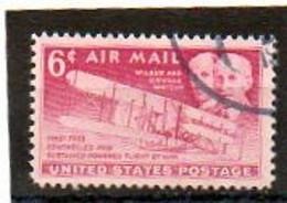ETATS-UNIS       6 C   1949    Y&T:44   Poste Aérienne    Oblitéré - 2a. 1941-1960 Usados