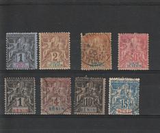 Benin Légende Golfe Et Benin - Used Stamps