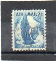 ETATS-UNIS       4 C   1954    Y&T:47   Poste Aérienne    Oblitéré - 2a. 1941-1960 Usados