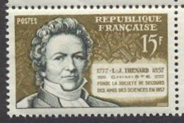 France N°1139 Neuf ** 1957 - Unused Stamps