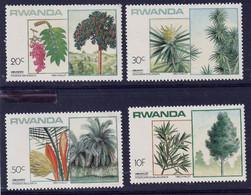 RWANDA - Arbres Rwandais - Y&T N° 1186-1193 - MNH - 1984 - 1980-89: Neufs