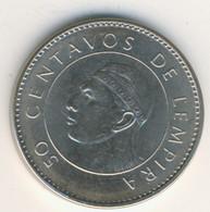HONDURAS 2007: 50 Centavos, KM 84a - Honduras