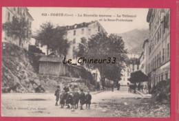 20- 2B---CORTE---La Nouvelle Traverse--Le Tribunal Et La Sous Prefecture---animé - Andere Gemeenten