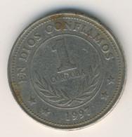 NICARAGUA 1997: 1 Cordoba, KM 89 - Nicaragua