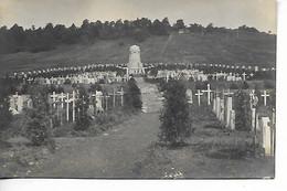 Guerre 14 18 ST MAURICE SOUS LES COTES Meuse Carte Photo Allemande Cimetière Militaire        ....G - Autres Communes