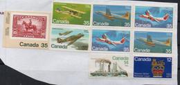 CANADA - 9 TIMBRES - 9 STAMPS - Sur Fragment - Unstucked - Non Oblitérés - Not Stamped - - Otros